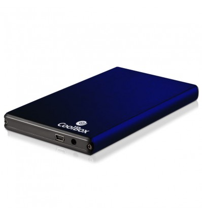 "Coolbox SCG2520 Caja externa 2.5"" USB 2.0 Azul"