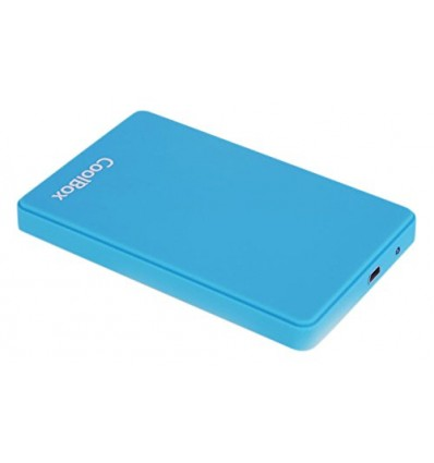 "Coolbox SCG2543 Caja externa 2.5"" USB 3.0 Azul Claro"