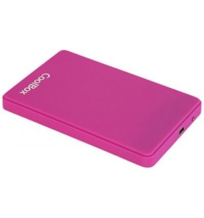 """Coolbox SCG2543 Caja externa 2.5"""" USB 3.0 Morado"""