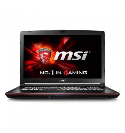 Portátil MSI GP72-033XES i7-7700 16GB 1TB GTX 1050