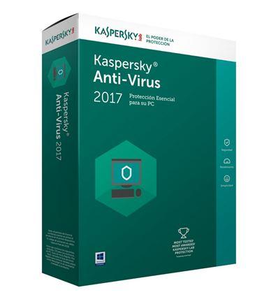 ANTIVIRUS KASPERSKY 2017 1 PC - AN01KS24