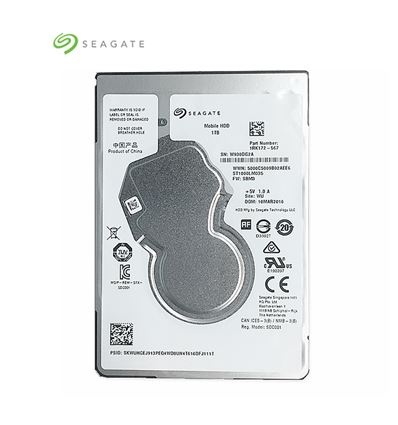 DISCO DURO SEAGATE 1TB 2.5 SATA 6GB 128MB - HD02SE07