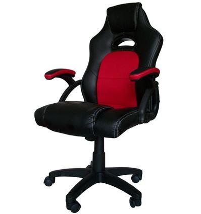 SILLA GAMING SKULLKILLER SEAT NEGRO/ROJO - SL01UL01