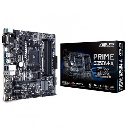 Asus Prime B350M-A - Placa base AM4