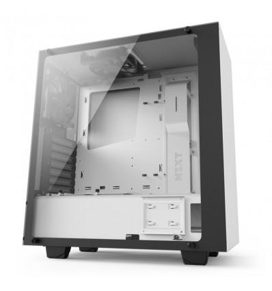 NZXT S340 Elite White - Caja semitorre