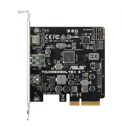 Asus Thunderboltex 3 card PCIe