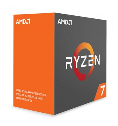 AMD Ryzen 7 1700 3.7 Ghz - Procesador AM4