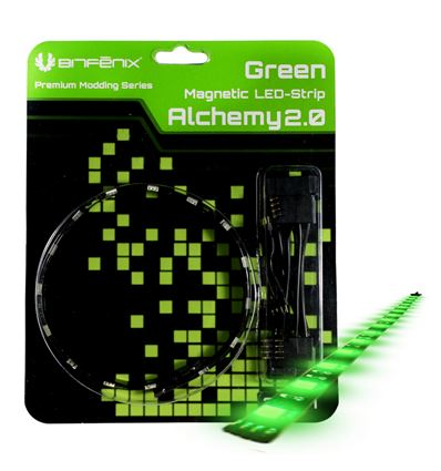 TIRA LED MAGNETICA BITFENIX ALCHEMY 2.0 30CM VERDE - LZ02BT02