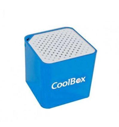 ALTAVOZ COOLBOX CUBE MINI AZUL BLUETOOTH - AL04CB02