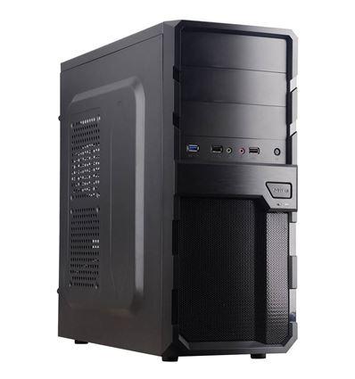 CAJA COOLBOX F200 BLACK ATX SIN FUENTE USB 3.0 - CJ01CB01