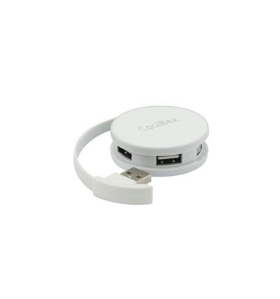 HUB USB COOLBOX SMART BLANCO USB 2.0 4 PUERTOS - HB01CB02
