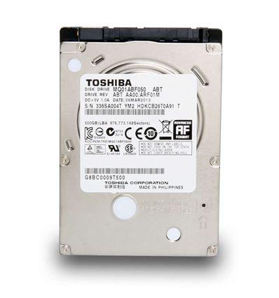 DISCO DURO TOSHIBA 500GB 2.5 SATA 3 MQ01ABF050 - HD02TO04
