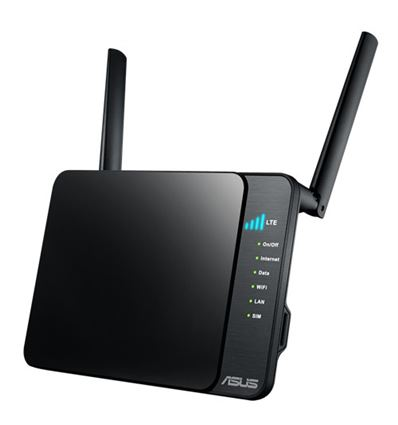 ROUTER MODEM ASUS 4G-N12 WIRELESS N300 - AC01AS02