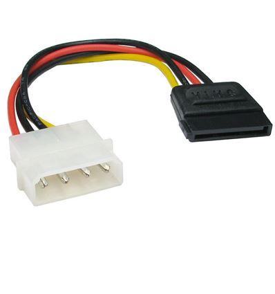 Cable Alimentación Molex/SATA 15 cm - CB15GR01