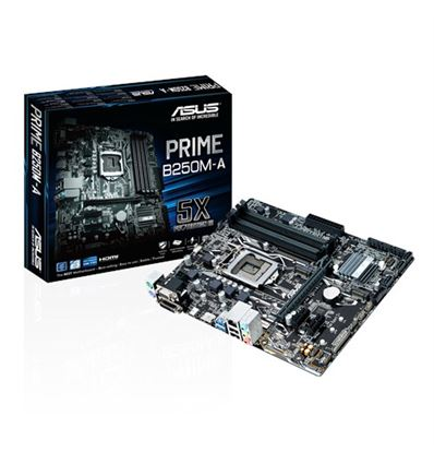 PLACA BASE ASUS PRIME B250M-A 1151K - PB01AS114