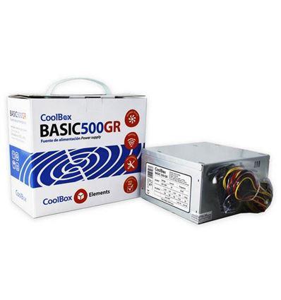 FUENTE DE ALIMENTACION COOLBOX BASIC 500GR - FA01CB02
