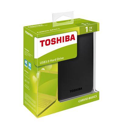 DISCO DURO TOSHIBA CANVIO BASICS 1TB 2.5 USB 3.0 - HD04TO06-4