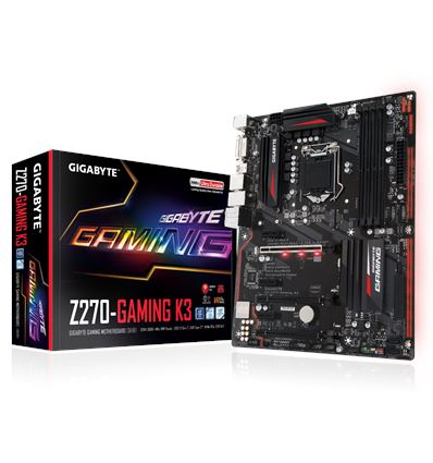 PLACA BASE GIGABYTE Z270-GAMING K3 SOCKET 1151K - PB01GB62