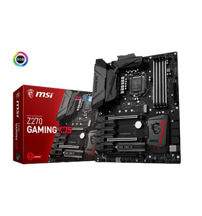 PLACA BASE MSI Z270 GAMING M5 1151K - PB01MS48