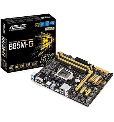 PLACA BASE ASUS B85M-G 4xDDR3 4xSATA 6Gb USB 3.0 S - PB01AS15