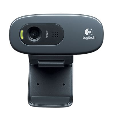 WEBCAM LOGITECH C270 HD 3MP - WB01LT03