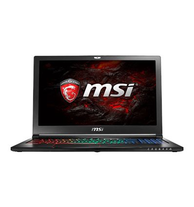 PORTATIL MSI GS63VR-250ES I7 7700 16GB 512SSD+2TB - PO15MS75