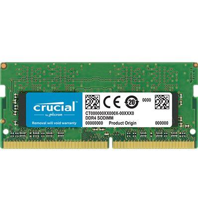 MEMORIA CRUCIAL 16GB DDR4 2400 SODIMM - ME05CR18