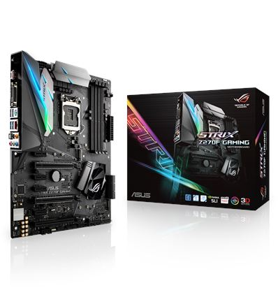 PLACA BASE ASUS STRIX Z270F GAMING SOCKET 1151K - PB01AS102