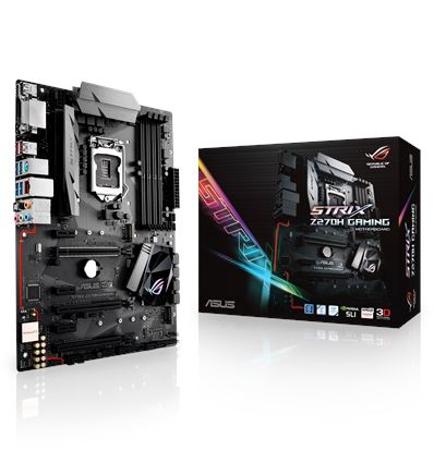 PLACA BASE ASUS STRIX Z270H GAMING SOCKET 1151K - PB01AS105