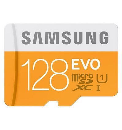 MEMORIA MICRO SD SAMSUNG 128 + ADAPTADOR CLASS10 - MicroSD_Samsung_128Gb
