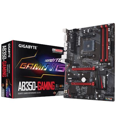 PLACA BASE GIGABYTE AB350 GAMING AM4 - AB350-GAMING