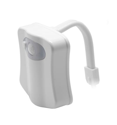 LUZ LED WC CON DETECTOR DE PRESENCIA UNOTEC - luz-led-wc-con-detector-de-presencia