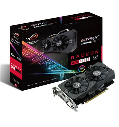 TARJETA GRAFICA ASUS STRIX RX460 4GB - TG02AS26