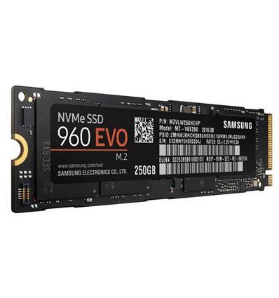 DISCO SSD SAMSUNG 250 960 EVO M.2 NVMe MZ-V6E250BW - Sasmung-960evo-256gb-2