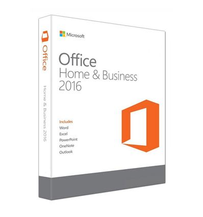 SOFTWARE MICROSOFT OFFICE 2016 HOME&BUSINESS - SO04MC04