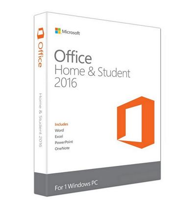 SOFTWARE MICROSOFT OFFICE 2016 HOME&STUDENT - SO04MC06