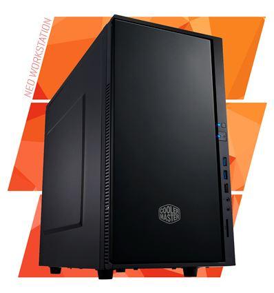 NEO WORKSTATION I5 7400 8GB 240GB + 1TB GT 710 2GB - WORKSTATION SILENCIO 352