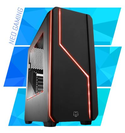 NEO GAMING I7 7700 16GB 240GB + 1TB GTX1060 6GB - GAMING HUMMER MC