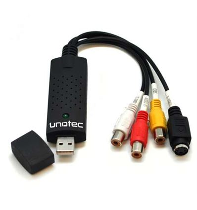 CAPTURADORA DE VIDEO USB CONVERTY UNOTEC - CR01UT01