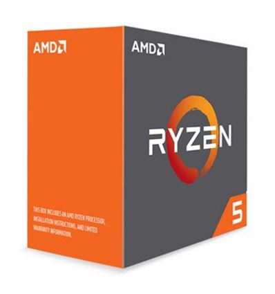 PROCESADOR AMD RYZEN 5 1600 3.6GHz AM4 - AMD-Ryzen-5-fondo-blanco