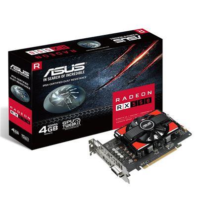 GRAFICA ASUS RX 550 4GB - Asus Radeon RX550-4G