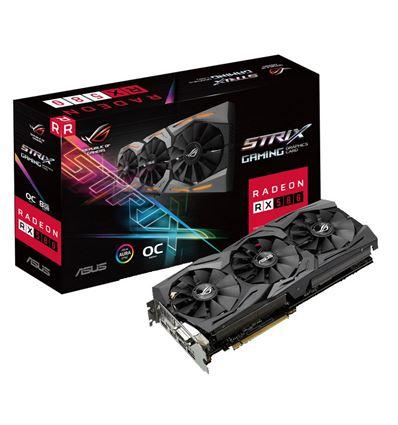 GRAFICA ASUS STRIX RX 580 O8GB GAMING - ASUS STRIX RX580 08GB GAMING