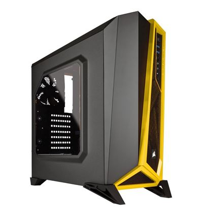 CAJA CORSAIR CARBIDE SPEC-ALPHA NEGRA/AMARILLA - CJ01CO19