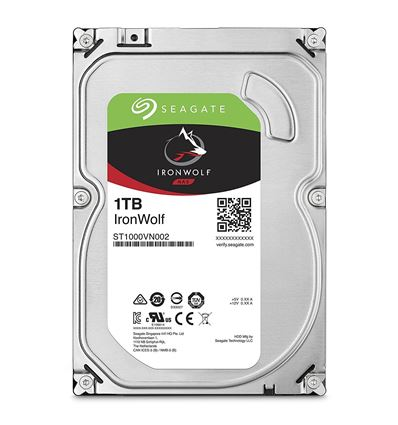 DISCO DURO SEAGATE 1TB IRONWOLF NAS ST1000VN002 - IRONWOLF 1TB