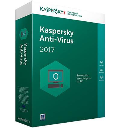ANTIVIRUS KASPERSKY 2017 3 PCS - AN01KS26