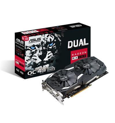 GRAFICA ASUS DUAL RX 580 OC 4GB - TG02AS31