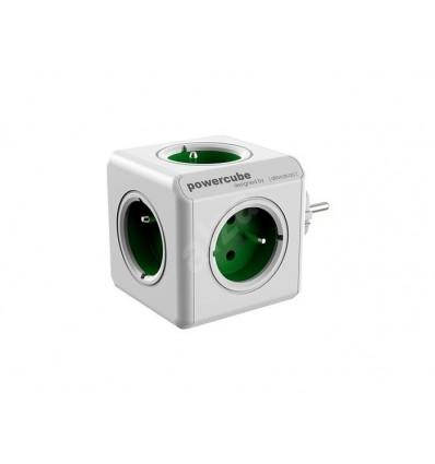 Regleta PowerCube Verde 5 tomas