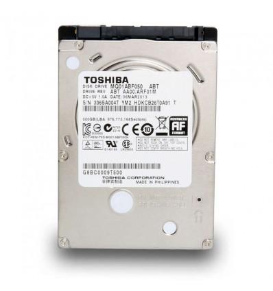 Disco duro Toshiba 500GB 2.5 SATA 3 MQ01ABF050