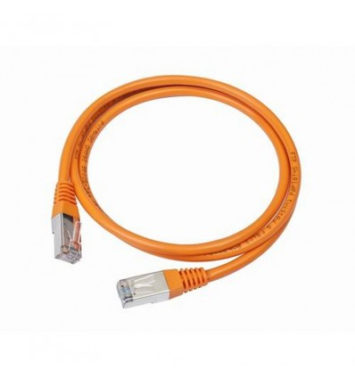 Cable de Red Iggual Cat. 5e 2m Naranja