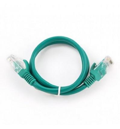 Cable de Red Iggual Cat. 5e 25cm Verde